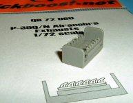 D 72462 QUICKBOOST 1//72 C47 EXHAUST FOR ARX