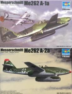 Trumpeter 1//144 Messerschmitt Me 262 A-2a # 01318
