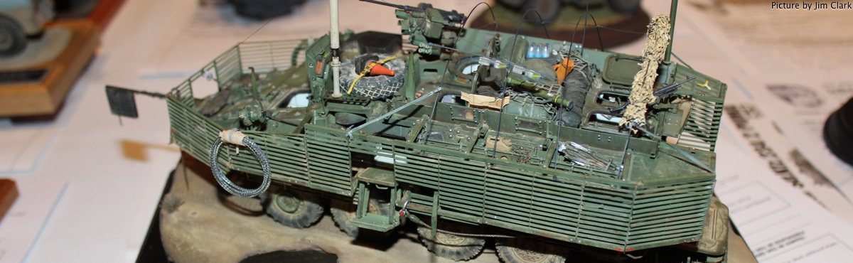 2015 Best of Class, Art Gerber Best Military Vehicle - M1126 Stryker, by Nathan LaPorte